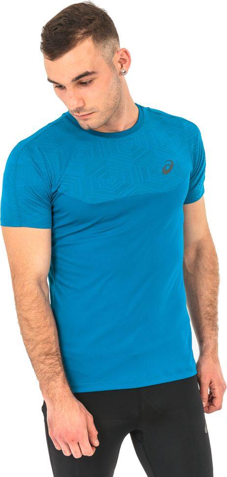Asics Koszulka meska Ventilation Top Asics niebieska r. S (1416238154) 1416238154