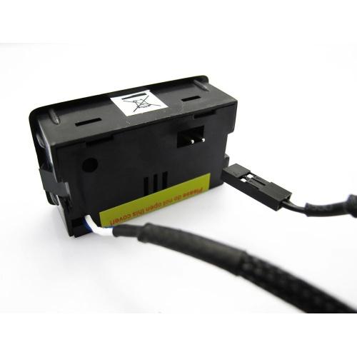 XSPC 1/4 collas 10k Temperatursensor - black chrome ūdens dzesēšanas sistēmas piederumi
