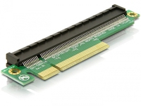 Riser Card Delock PCIe Extension x8 -> x16 karte