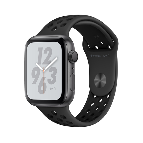 Apple Watch Nike+ Series 4 GPS 44mm Grey Alu Nike Band Viedais pulkstenis, smartwatch