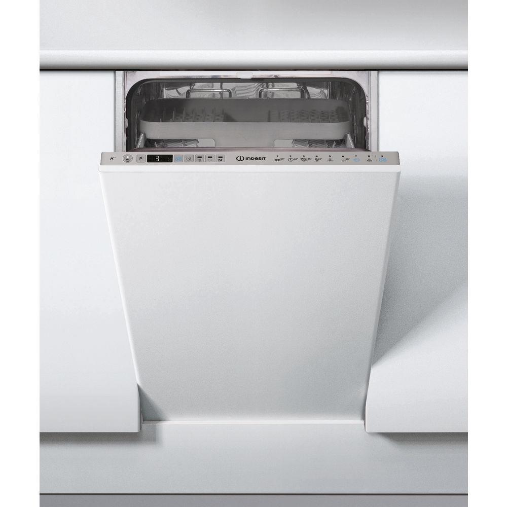 Dishwasher for installation Indesit DSIO 3T224 CE (width 44.8cm; Internal; silver color) DSIO 3T224 CE Iebūvējamā Trauku mazgājamā mašīna