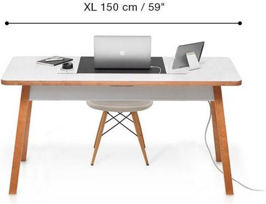 BlueLounge StudioDesk X L 150cm datorkrēsls, spēļukrēsls