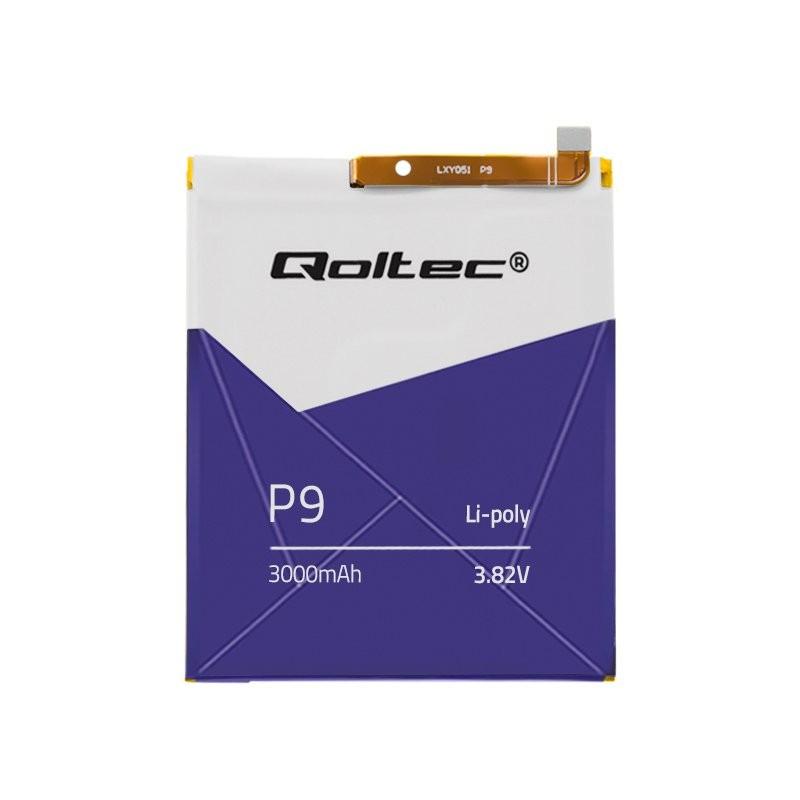 Qoltec Battery for Huawei P9 | 3000mAh akumulators, baterija mobilajam telefonam
