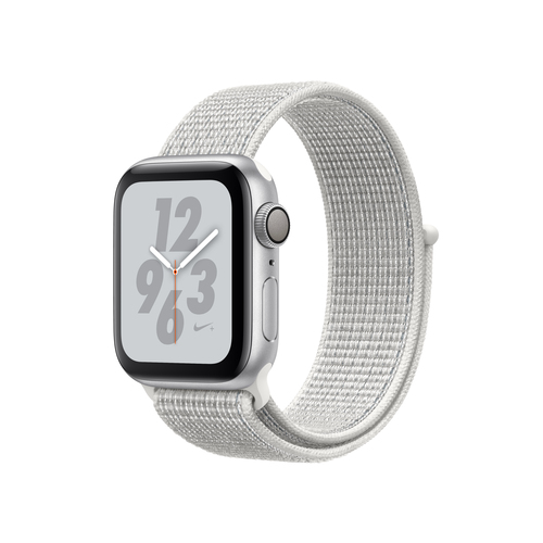 Apple Watch Nike+ Series 4 GPS 40mm Silver Alu Nike Loop Viedais pulkstenis, smartwatch