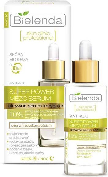 Bielenda Skin Clinic Professional Active correction serum for day and night 30ml kosmētika ķermenim