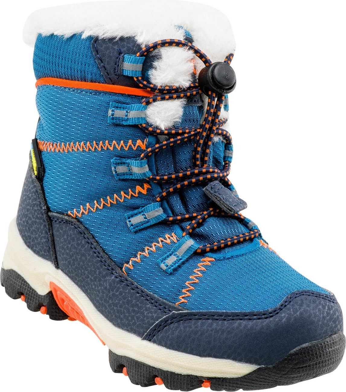 BEJO Buty dzieciece Amir Kids Peacock Blue/navy/orange r. 27 5264523