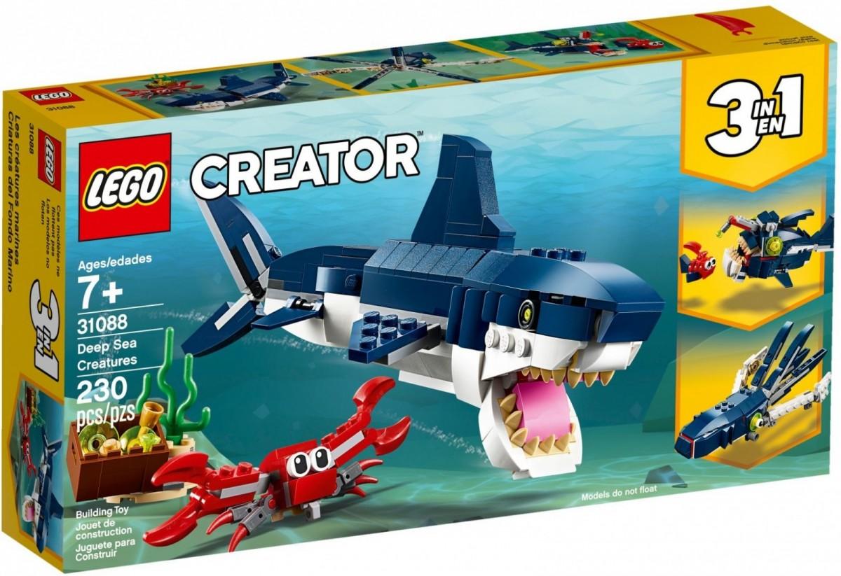 LEGO Creator 31088 Deep Sea Creatures LEGO konstruktors