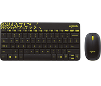 Logitech MK240 Wireless Combo (US)INTNL Layout black klaviatūra