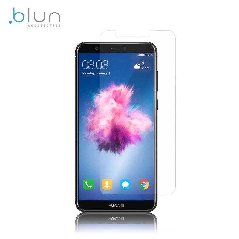 Blun Extreeme Shock 0.33mm / 2.5D Aizsargplēve-stiklss Huawei P Smart / Enjoy 7S (EU Blister) aizsargplēve ekrānam mobilajiem telefoniem