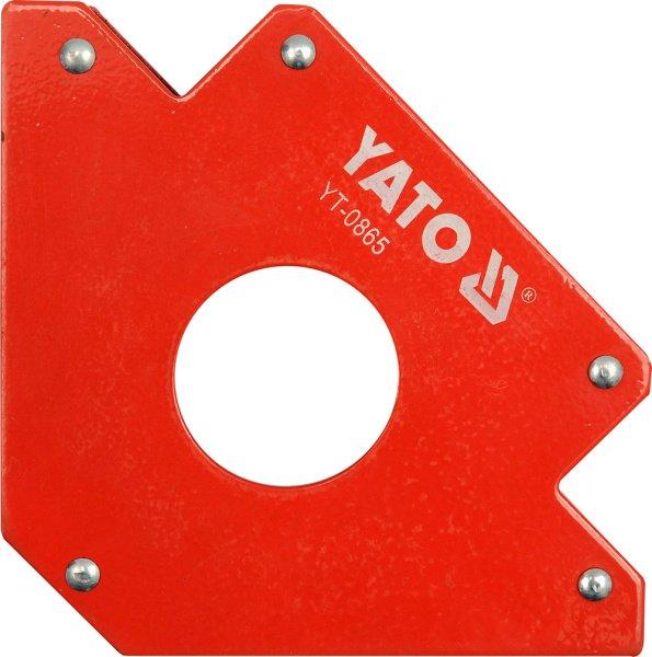 Yato Welding magnetic angle 122x190x25mm 34kg (YT-0865)