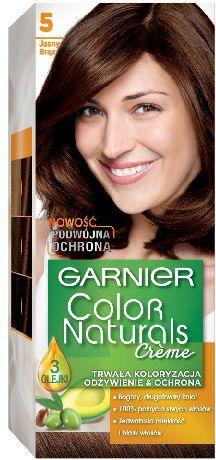 Garnier Color Naturals Krem koloryzujacy nr 5 Jasny Braz 0305393