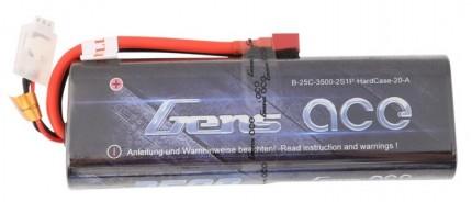 Gens Ace 3500mAh 7.4V 25C HardCase