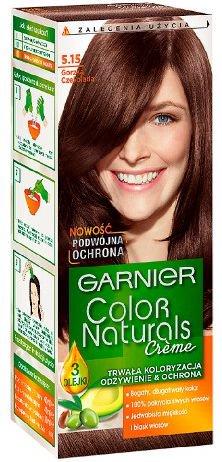 Garnier Color Naturals Krem koloryzujacy nr 5.15 Gorzka Czekolada 0351471