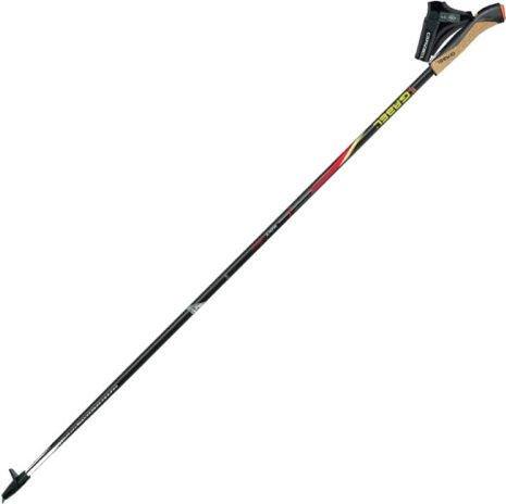 Gabel Kije trekkingowe FX-75 Snake Carbon czerwono-czarne 120 cm (7008351011200) 7008351011200