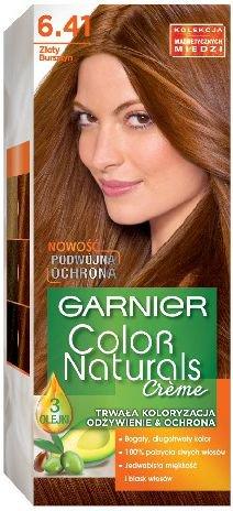 Garnier Color Naturals Krem koloryzujacy nr 6.41 Zloty Bursztyn 0345564