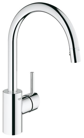Kitchen faucet Grohe Concetto standing chrome (31483001) jaucējkrāns