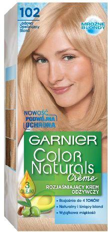 Garnier Color Naturals Krem koloryzujacy nr 102 Lodowy Opalizujacy Blond 0340452