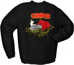 GamersWear CAMPER Sweater Black (S) spēle
