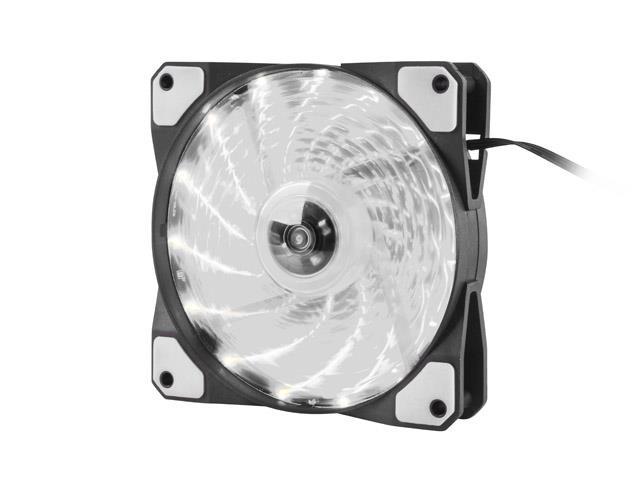 Cooling Fan Genesis Hydrion 120 white aksesuārs datorkorpusiem
