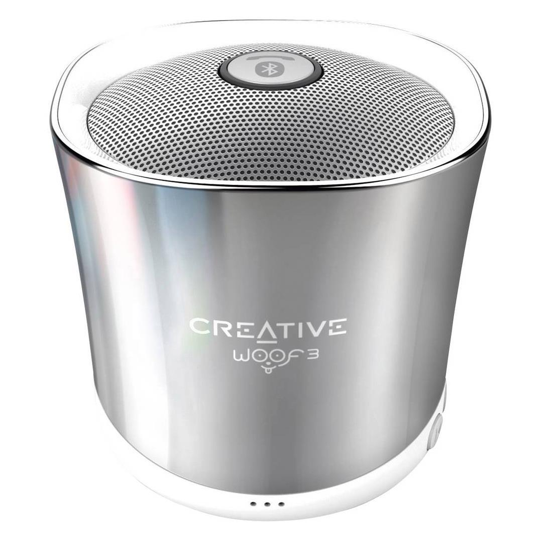Creative Speaker WOOF3, winter pārnēsājamais skaļrunis