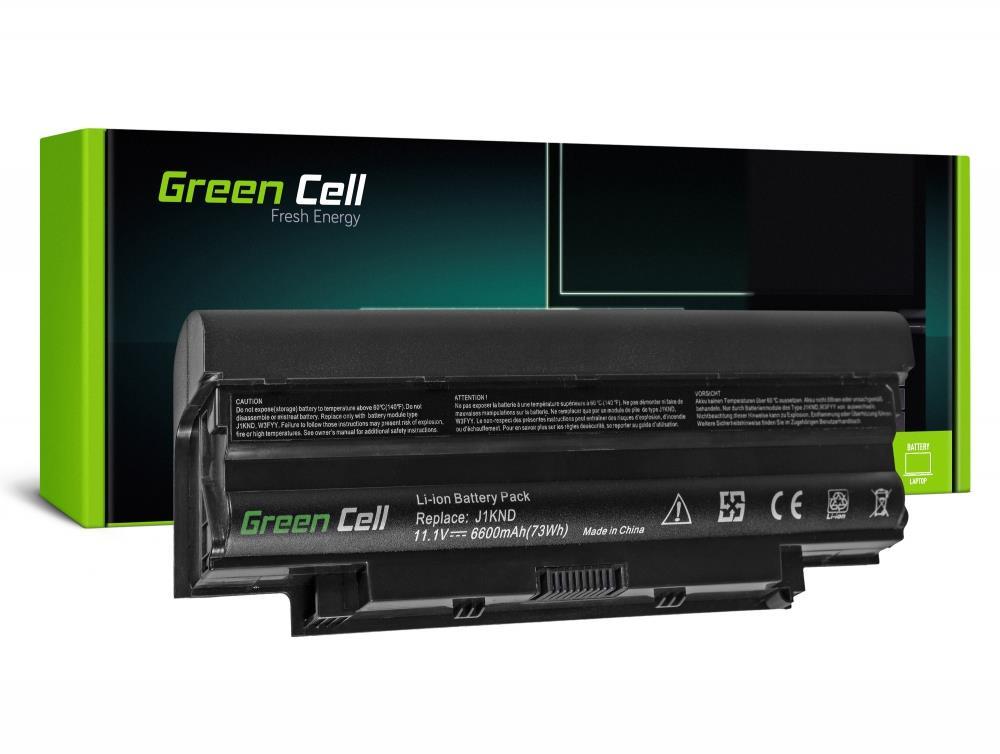 Green Cell  Dell Inspiron J1KND N4010 N5010 13R 14R 15R 17R 11.1V 9 cell (DE02) akumulators, baterija portatīvajiem datoriem