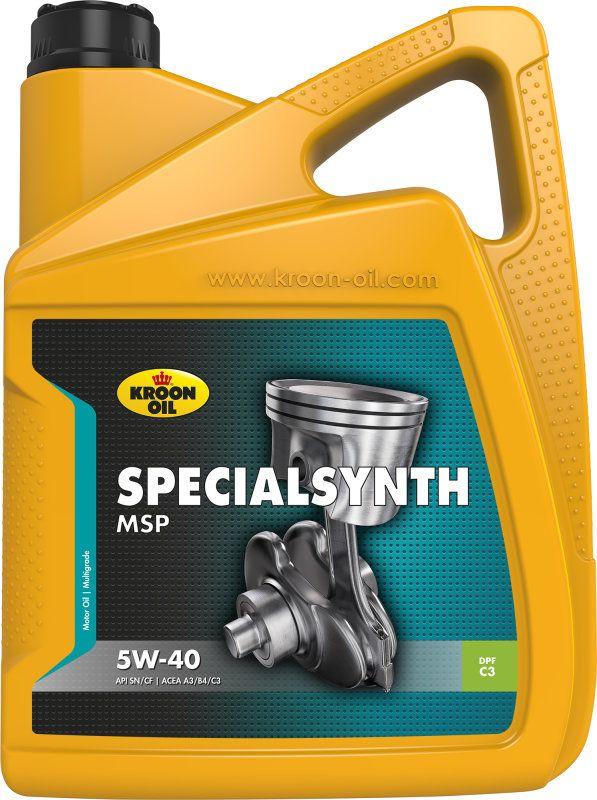 Olej silnikowy Kroon Oil Akcija! Alyva KROON-OIL Specialsynth MSP 5W-40, 5L+1L 5045781 motoreļļa
