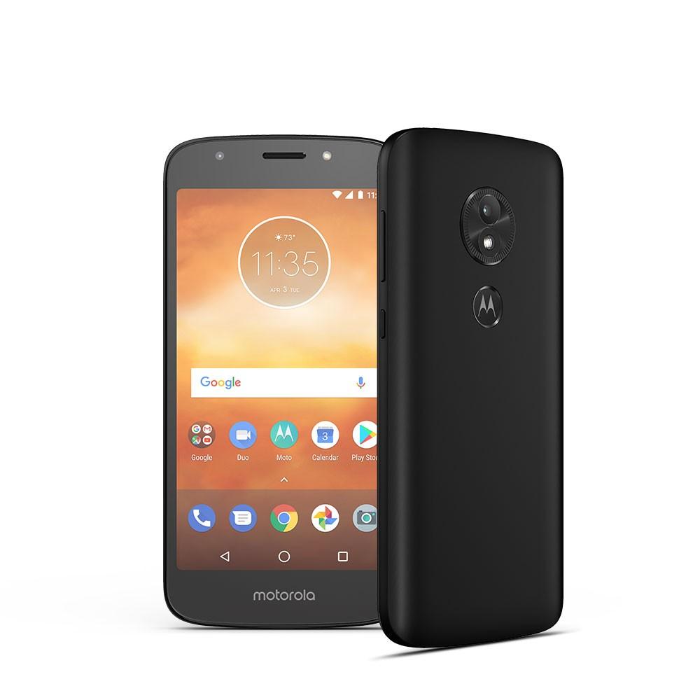 Smartphone Moto E5 Play Dual Sim 1/16 GB Black PACR0011PL Mobilais Telefons