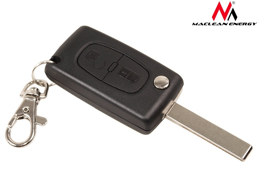 Housing for remote control key Peugeot 207, 307, 407, 607 MCE106 auto kopšanai