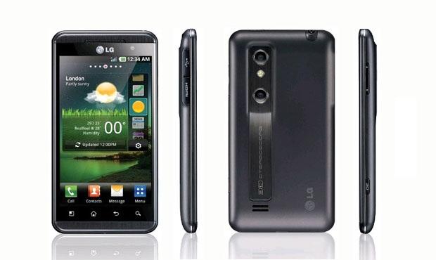 LG P720 Optimus 3D Max Black USED (grade:A) T-MLX22732 Mobilais Telefons