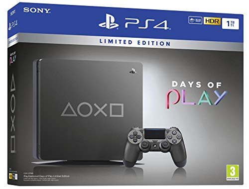 Sony PlayStation 4 Slim 1TB Days of Play Limited Edition CUH-2216B spēļu konsole