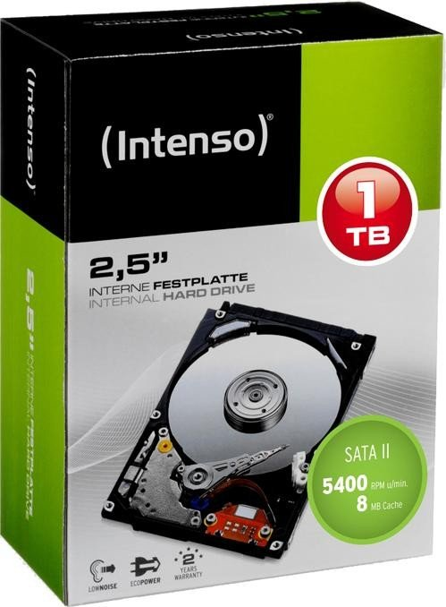 Intenso SSD TOP 1TB SATA3, 520/490MBs, Shock resistant, Low power SSD disks