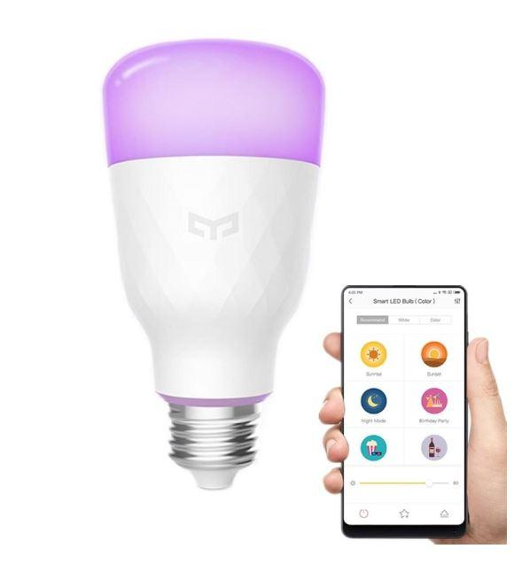 Xiaomi Yeelight Smart LED Bulb (Color) (YLDP06YL) E27, 10W