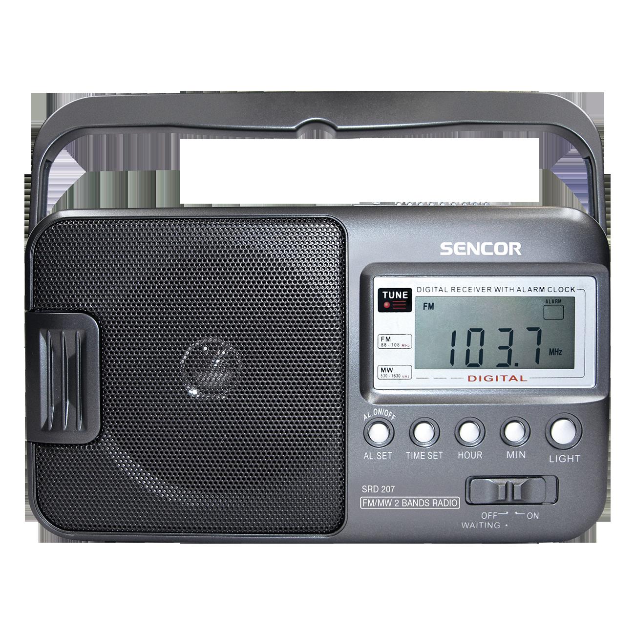 Sencor SRD 207 radio, radiopulksteņi