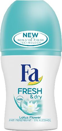 Fa Fresh & Dry Lotus Flower Dezodorant w kulce  50ml 68935913