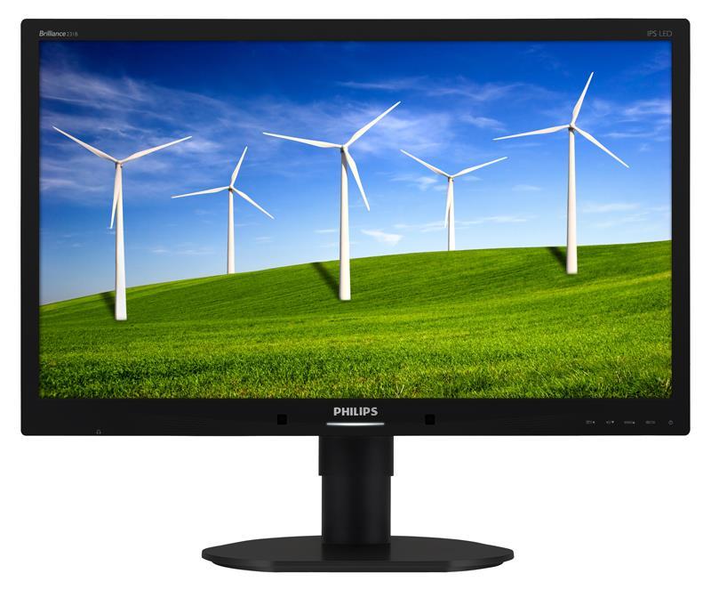 Philips 231B4QPYCB LED FHD, D-Sub, DVI-D, DP, VESA monitors