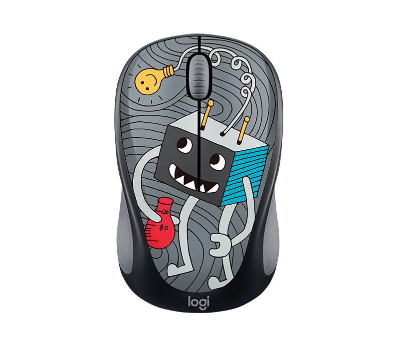 Logitech Lightbulb RF Wireless optiskā 1000DPI Ambidextros Multi Mouse (910-00... Datora pele