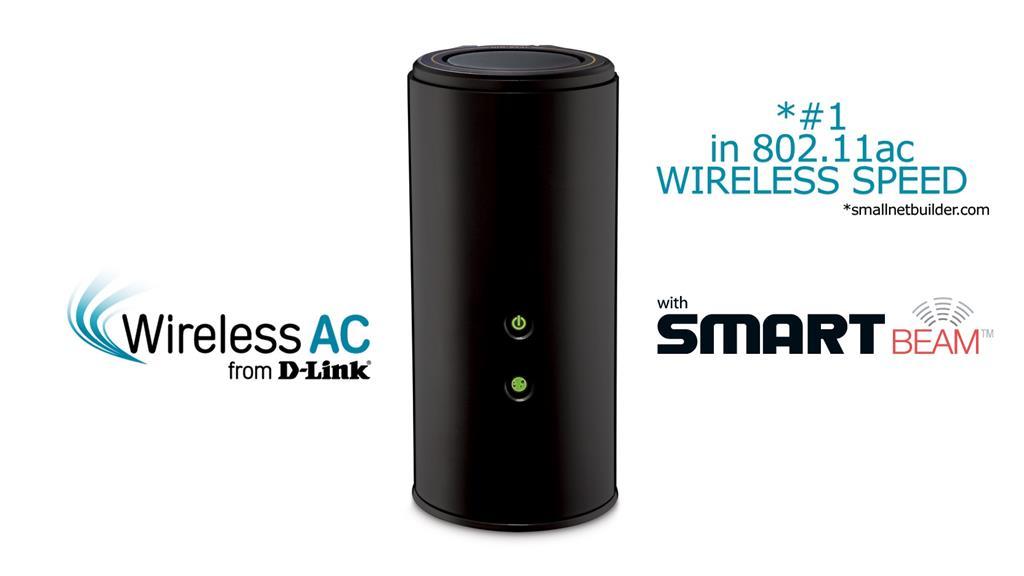 D-Link Wireless AC1750 Dual Band Gigabit Cloud Router USB 3.0 WiFi Rūteris