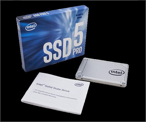 INTEL SSD Pro 5450s Series 256GB 2.5in SSD disks