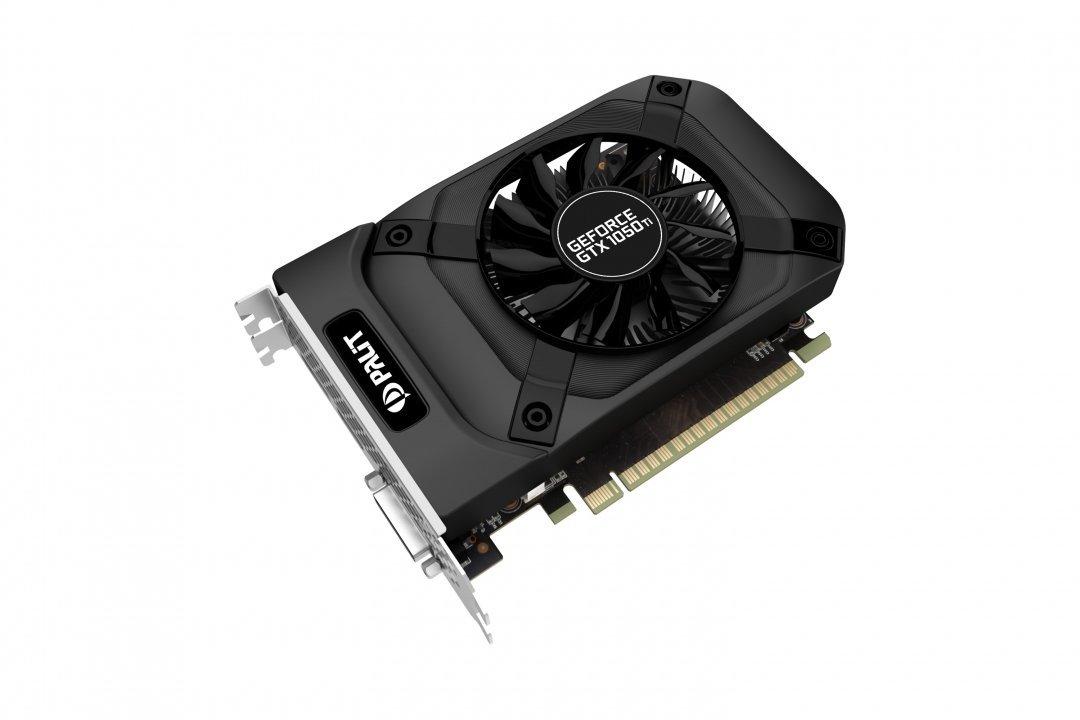 Palit GeForce GTX 1050Ti 4GB StormX DP + HDMI + Dual-link DVI video karte