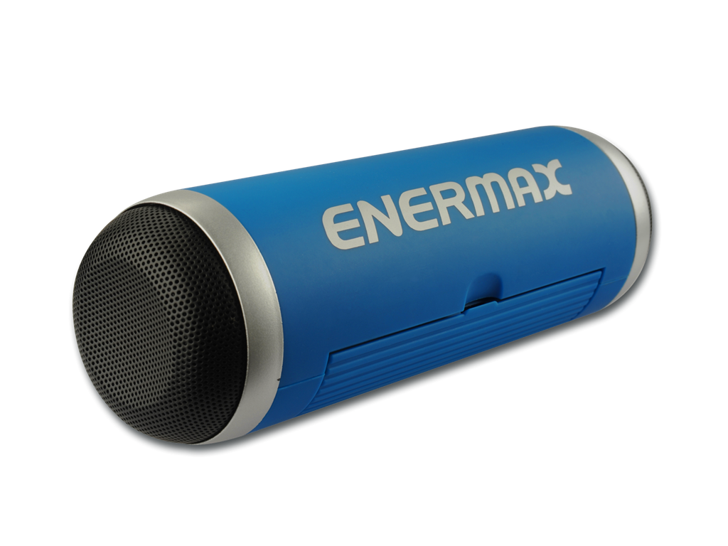 Enermax - Portable Bluetooth Speaker - EAS01 Blue pārnēsājamais skaļrunis