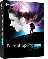 PaintShop Pro 2018 ML   Ult BOX  PSP2018ULMLMBE