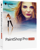 PaintShop Pro 2018 ML   Box        PSPSP2018MLM