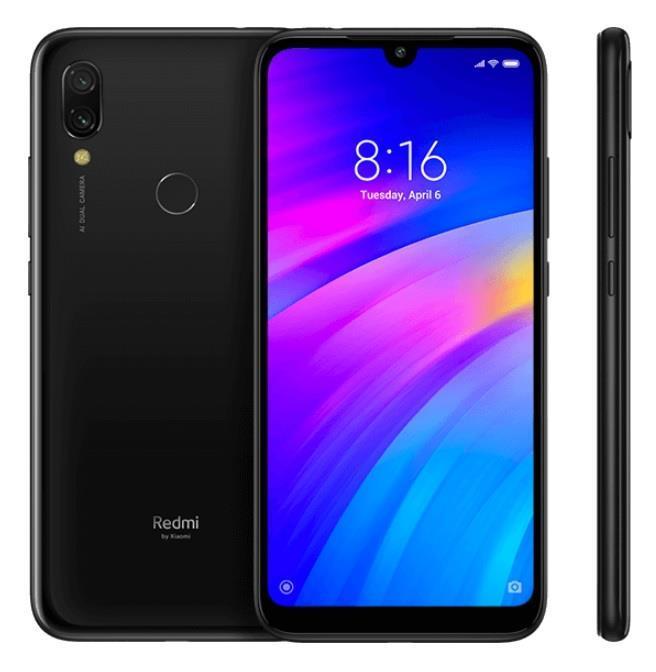 Xiaomi Redmi 7 3GB/32GB Black Mobilais Telefons