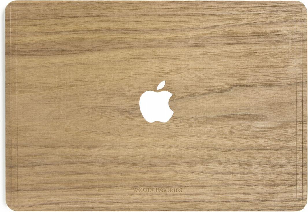 Woodcessories EcoSkin Apfel Macbook 13 Pro Retina walnut