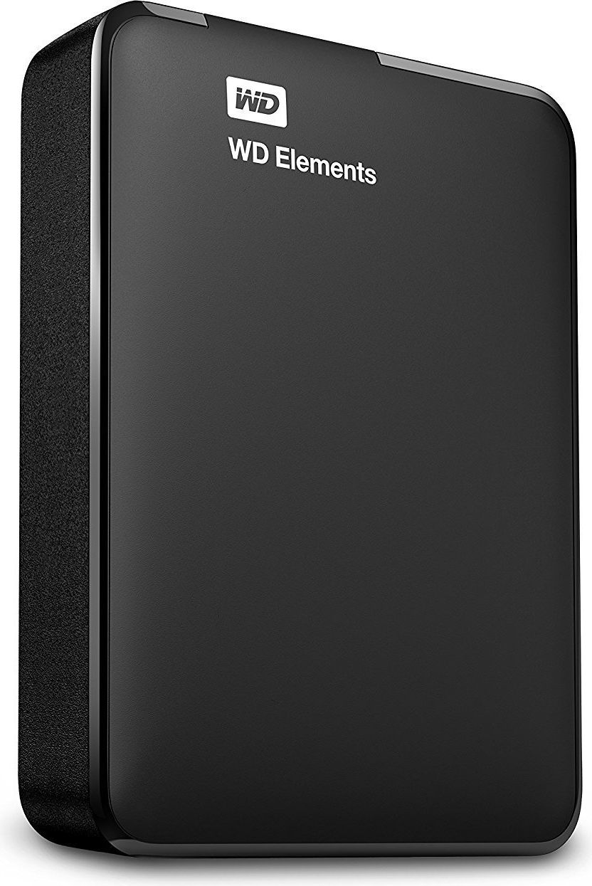 Western Digital Elements Portable 2.5'' 4TB USB3 Black Ārējais cietais disks