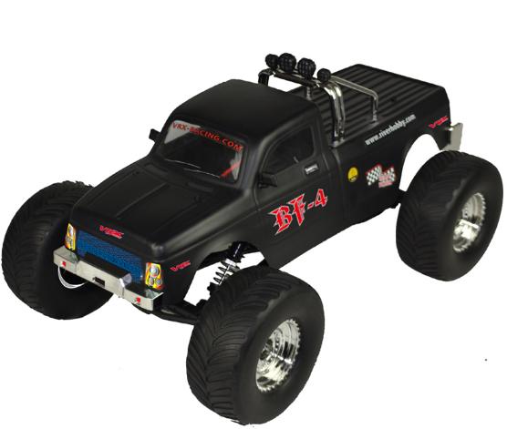 Monster Truck RH1046 1:10 off-road 4WD 2.4GHz RTR VRX/RH1046-R0246BLK