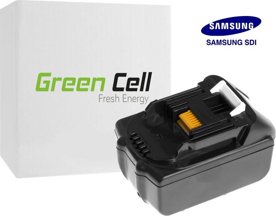 Green Cell Power Tool Battery for Makita BL1830 194204-5 Samsung cells 18V 3Ah
