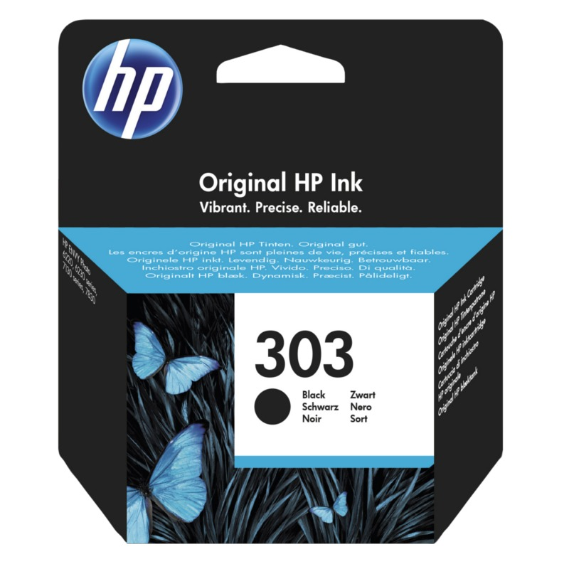 HP T6N02AE ink cartridge black No. 303