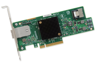 LSI HBA SAS/SATA 9207-4i4e   SGL  4-Port ext/int 6Gb/s karte