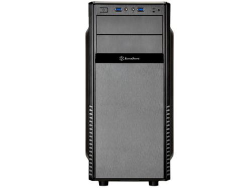 Silverstone SST-PS11B-Q Precision Midi-Tower - black Datora korpuss